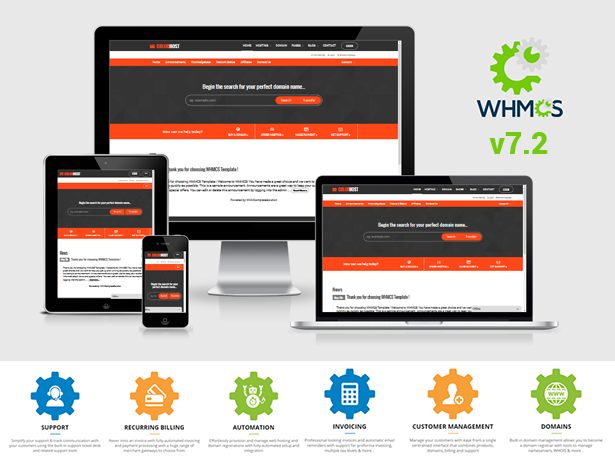WHMCS - ColorHost | Responsive HTML5 Web Hosting and WHMCS Template ...