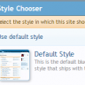 [oman] Style Chooser Link in Visitor Panel