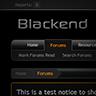 Blackend - PixelExit
