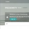 Proximity - With Custom Homepage!
