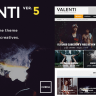 Valenti v3.1 - WordPress HD Review Magazine News Theme