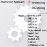 E-mail Address Restrictions