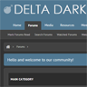 Delta Dark - ThemesCorp