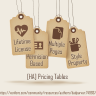 [HA] Pricing Tables