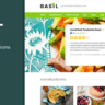 Basil Recipes - A Recipe-Powered WordPress Theme