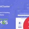 HostCluster - WHMCS Server & Hosting WordPress Theme