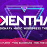 Kentha — Visionary Music WordPress Theme