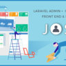 Josh - Laravel Admin Template + Front End + CRUD