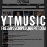 YT-Music MP3 Script & Youtube Grabber (No API Key)